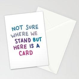 Uncertain Valentine Stationery Cards