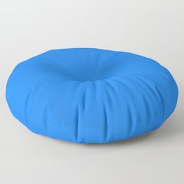 Solid Bright Blue Color Decor Floor Pillow
