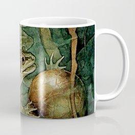 """The Frog Prince and the Golden Ball"" by Edmund Dulac Coffee Mug"