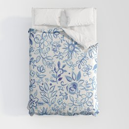 Blue Delft Comforters