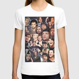 Jared Padalecki Collage T-shirt