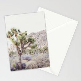 Pale Desert - Joshua Tree Boho Landscape Photography Stationery Cards