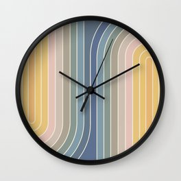 Gradient Curvature IV Wall Clock