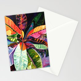 Kauai Croton Leaves Stationery Cards