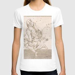Johann Bayer - Uranometria / Measuring the Heavens (1661) - 12 Auriga T-shirt
