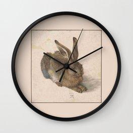 Albrecht Durer - The hare Wall Clock