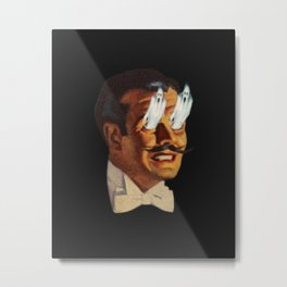The Portrait Metal Print