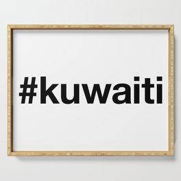 KUWAITI Hashtag Serving Tray