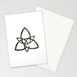 Rustic Celtic Knot Stationery Cards