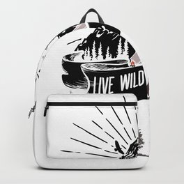 Live Wild And Free - Bushcraft Survival Backpack