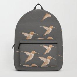Hummingbird Design Backpack