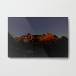 The Glow Metal Print