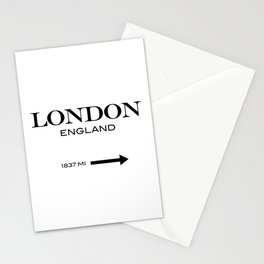 London - England Stationery Cards