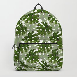 Monstera Mania 1 Backpack