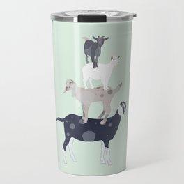 Goat Stack Travel Mug