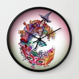C - variation Wall Clock