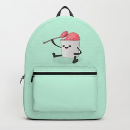 Ice Cream Cannibalism - Cute Self-Sabotage Backpack