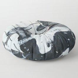 driftwood art redwine Floor Pillow