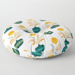 Sunny Tropics Pattern Floor Pillow