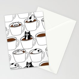 More Coffee French Bulldog Stationery Cards