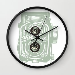 Surreal Lens Wall Clock