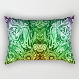 ayahuasca Rectangular Pillow