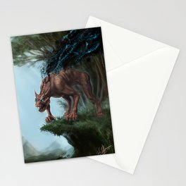 Nano-Beast Stationery Cards