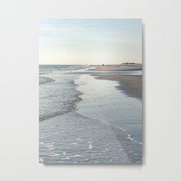 Amrum Beach Metal Print
