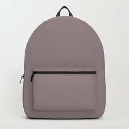 Light Pinkish Purple Solid Color Graham & Brown 2021 Color of the Year Accent Hue Spiced Mulberry Backpack