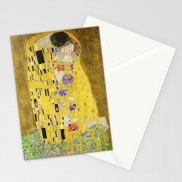 The Kiss - Gustav Klimt, 1907 Stationery Cards