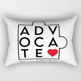 Advocate. Autism awareness, autism mom, autism shirt, autism boy girl Rectangular Pillow