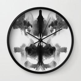 Form Ink Blot No. 9 Wall Clock