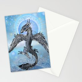 Mystic Bird Dragon Stationery Cards