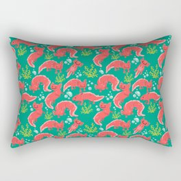 Axolotl Awesomeness Rectangular Pillow