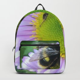 Bee on a daisy Backpack