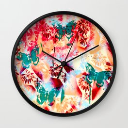 Rose Kathryn Louise Quartz  Wall Clock