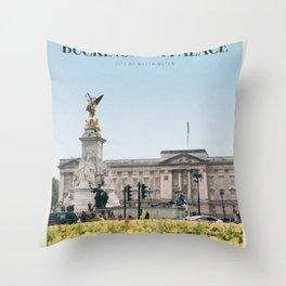 Visit  Buckingham Palace Throw Pillow