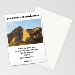 Power of Faithfulness Stationery Cards