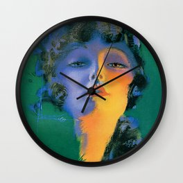 """""""Girl of My Dreams"""" Pinup by Rolf Armstrong Wall Clock"""