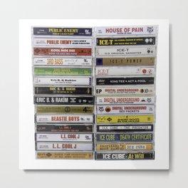 OG Hip Hop Tapes Metal Print