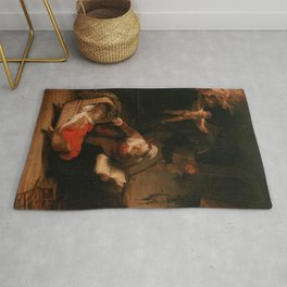 Holy Family with Angels Rug