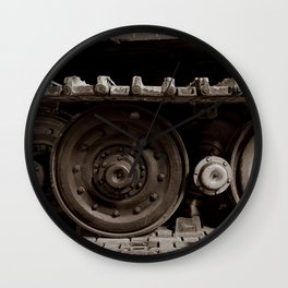Wheels of War Wall Clock