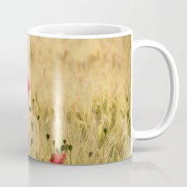 Dream poppies. Spring fields. Early morning Coffee Mug
