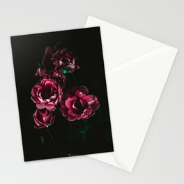 Rose flowers Painting Stationery Cards