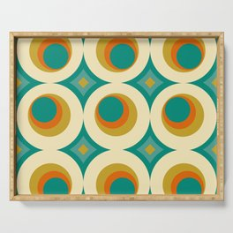 Mid-Century Modern Serving Tray