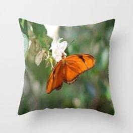Julia Butterly Throw Pillow