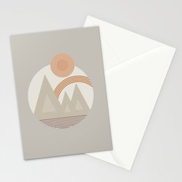 Mountain Rainbow_Sienna Stationery Cards