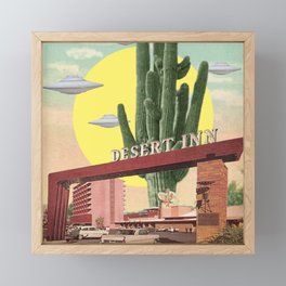 Desert Inn Framed Mini Art Print