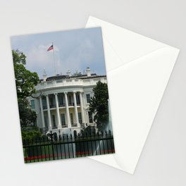 South Portico of the White House Washington DC Stationery Cards