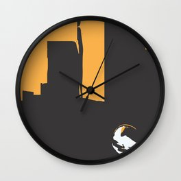 Sky Towers Wall Clock